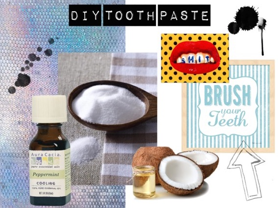 DIY TOOTH PASTE Zahnpasta Plastikfrei