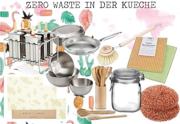 Zero Waste in der Küche Plastikfrei Leben