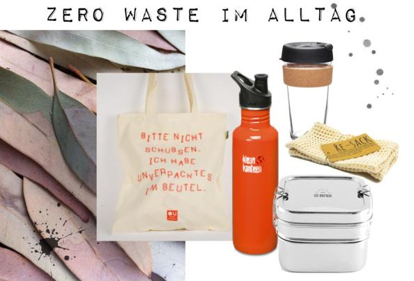 Zero Waste im Alltag Collage